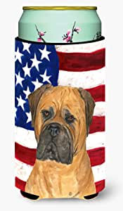 USA American Flag with Bullmastiff Michelob Ultra Koozies for slim cans SS4001MUK 多色 Tall Boy