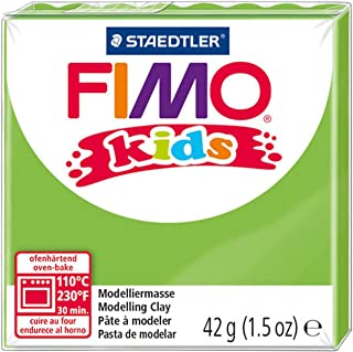 Staedtler Fimo 儿童烘焙粘土,1.5 盎司,浅绿色