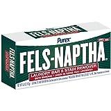 fels naptha 洗衣 Bar 和污清除劑,155.9?gram 原味 Single Bar 5