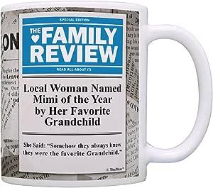Local Woman Named Mimi of Year By Favorite Grandchild 礼物咖啡杯茶杯 News 11 盎司 COMINHKPR128836