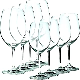 Riedel Vinum, Set of 6 plus 2 Bonus Glasses 4 Bordeaux & 4 Chablis