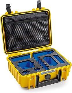 B&W Outdoor.Cases Typ 500 (leer) - Das Original 小收纳袋 黑色1000/Y/GoProMax GoPro Max 270x215x105 (Typ 1000) 黄色