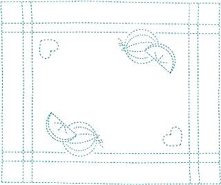NASKA 刺绣布 海绵 H-2 Suiuka 17082