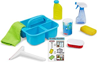 Melissa & Doug 过家家玩具套装 喷淋、喷胶、刮擦清洁工具组