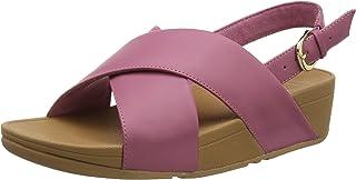 Fitflop 女士 Lulu 凉鞋-皮革露趾
