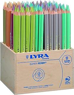 Lyra Super Ferby 金属 96 木制书包,各种,铅笔