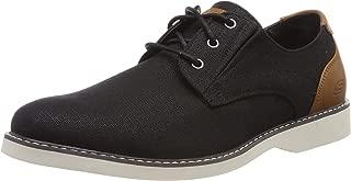 Skechers 斯凯奇 Parton-Wilcon Brogues男士皮鞋,黑色