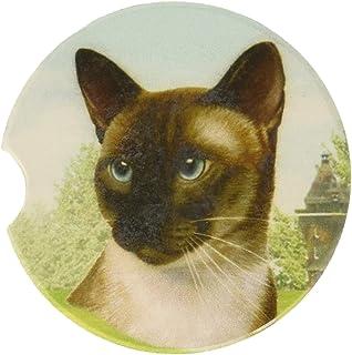 E&S Pets Siamese 杯垫,7.62cm x 7.62cm