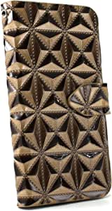 whitenuts 保护壳 手册式 3D钻石WN-OD234150 2_ Xperia X F5122 金色