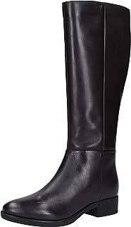 Geox 女士 D Felicity D 高筒靴 棕色(咖啡色 C6009) 8 UK