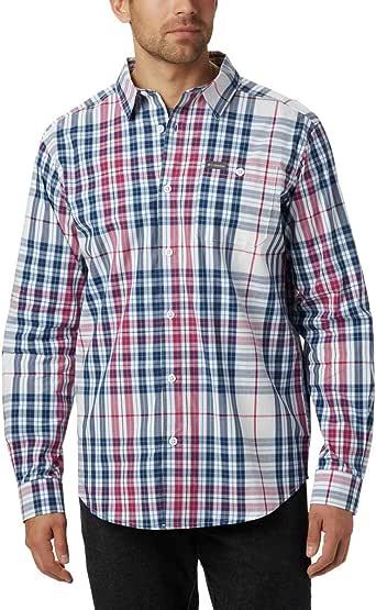 Columbia Boulder Ridge 长袖衬衫 3X 蓝色 1805612-464-3X