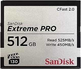 SanDisk Extreme Pro CFast 2.0 存储卡,512 GB