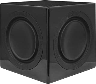 """Earthquake Sound MiniMe 6.5"""" Powered Subwoofer with Dual 被动式 散热器 黑色"""