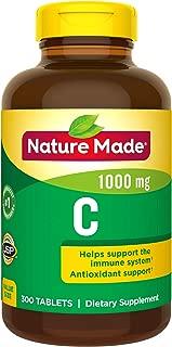 Nature Made 维生素C 1000 毫克,300片,有益于机体(包装可能有所不同)