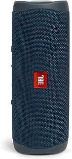 JBL FLIP5 音乐万花筒五代 便携式蓝牙音箱 低音炮 防水设计 支持多台串联 户外迷你音箱 深海蓝