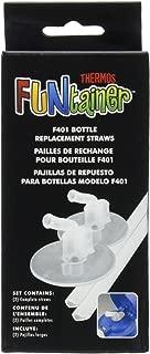 Thermos膳魔師 12盎司(約350毫升) Funtainer保溫瓶吸管更換件 透明