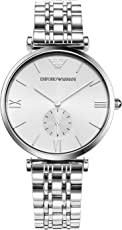 ARMANI 阿玛尼 意大利品牌  简约时尚休闲石英男士手表 AR1819