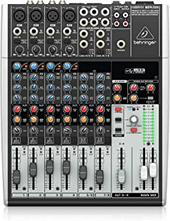 Behringer XENYX 1204usb 搅拌器 ( 12 - 通道 , USB 音频 )
