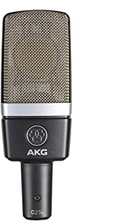 AKG 电容式麦克风  Pro Audio C214 专业大振膜,灰色