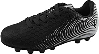 Vizari Stealth FG Black/White Size 10 Soccer-Shoes
