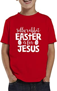 SpiritForged 服装 Silly Rabbit Easter Is For Jesus 幼童 T 恤