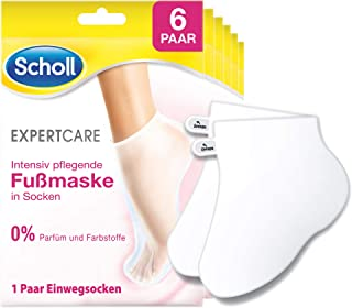Scholl Expert Care 密集型丰盈*面膜,香水和染料,6件装(6 x 200克)