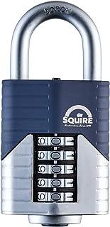 SQUIRE Vulcan 密码锁。 *设计 Boron Steel Shackle 可回收挂锁,4 和 5 轮子配置。 5 Wheel - 60 mm