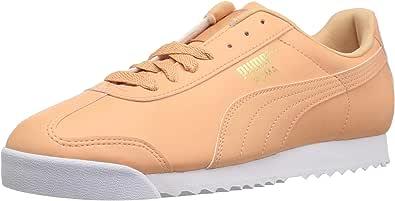 PUMA 彪马 男式 Roma Basic 时尚运动鞋 Dusty Coral-puma White 7