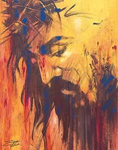 Stephen Fishwick 耶稣宗教精神励志精美装饰艺术明信片海报印刷品 11x14 Unframed 182-367