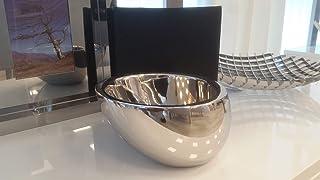 菲律賓勺零食碗,不銹鋼,15 x 15 x 9 厘米,銀色