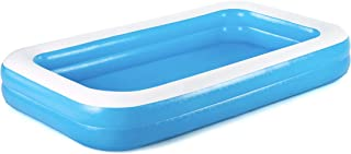 H2OGO! 蓝色长方形家庭泳池