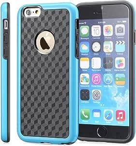 Fosmon DURA-HOLOGRAM 立体幻觉双层保护壳适用于 Apple iPhone 6(4.7 英寸)SGEL81017 蓝色