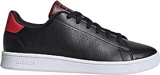 Adidas 阿迪达斯 儿童运动鞋 ADVANCOURT K(EPG25) 核心黑(core black)/核心黑(core black)/活力红(Active bride) 23 cm