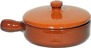 Amazing Cookware 天然陶罐 15cm 平底锅带盖
