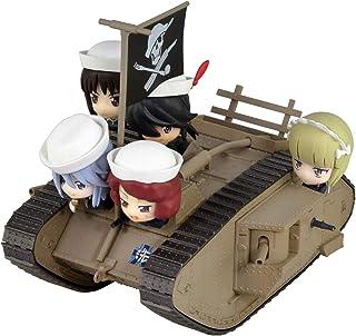 Pentel 派通 少女与战车*终章 Mk.IV战车 订婚版 附有鲨鱼队手办5个 涂装完成品 PD83