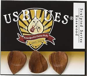US Blues P3-SCRS Sculpted Series Rosewood Guitar Picks