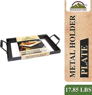 喜马拉雅 Chef 板支架适用于20.3x 30.5x 5.1cm 盐烹调板,黑色
