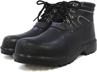 力王 水溶胶防水*鞋 系带型 黑色 29.0cm AQZ-BK