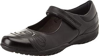 Geox 女童 Jr Shadow C 带球鞋