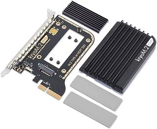 Aqua Computer kryoM.2 evo PCIe 3.0 x 4适配器,M.2 NGFF PCIe SSD,M-Key 带被动冷却器