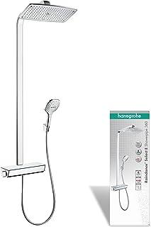Hansgrohe 汉斯格雅飞雨Select E 360 淋浴套装 3种喷淋模式 镀铬