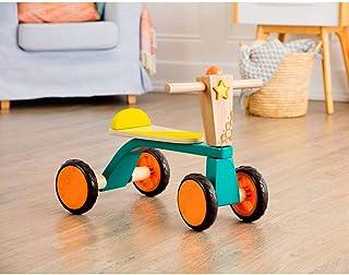 B. Toys- B. Smooth Rider 木制三轮车 - 适合 18 个月以上幼儿的积极玩耍骑乘玩具