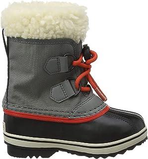 Sorel 中性童 Yoot Pac 尼龙雪地靴