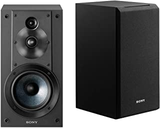 Sony SSCS5 3-Way 3-Driver Bookshelf Speaker System (Black)需配变压器