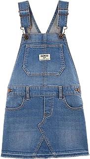 OshKosh 幼儿可调节肩带弹力牛仔套衫尺码 4