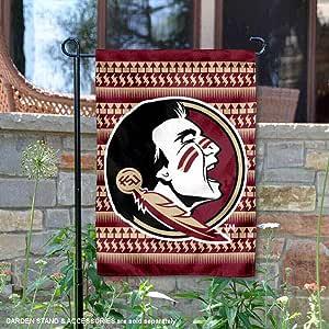 FSU Seminoles Chevron 花园旗帜
