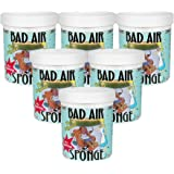 The ORIGINAL Bad Air Sponge吸收异味空气净化剂400g 6罐装(亚马逊跨境自营,保税区发货)