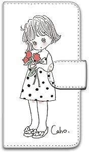 Caho 壳 手册式 印刷手册 郁金香WN-LC991213_S 1_ iPhoneSE チューリップA