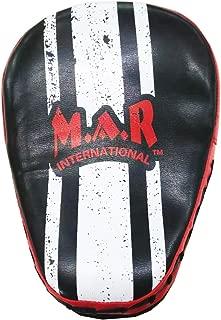 MAR International 红色和黑色小型专业弧形聚焦手套