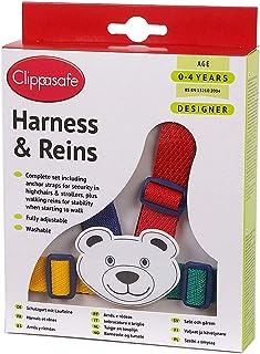 clippasafe 字符胸背带–多色